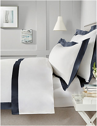 THE WHITE COMPANY: Camborne cotton super king duvet cover 260cm x 220cm