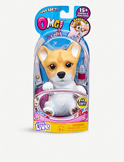 LITTLE LIVE PETS: OMG Interactive Pets soft toy assortment