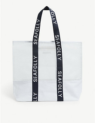 SEAFOLLY: Carried Away mesh tote