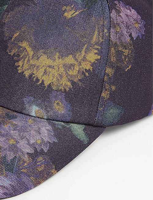 DRIES VAN NOTEN Floral-print canvas cap