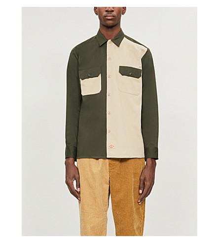Dickies Asymmetrical slim-fit woven shirt