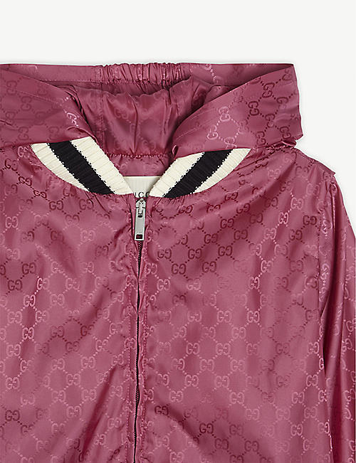 GUCCI GG Supreme nylon windbreaker 6-12 years