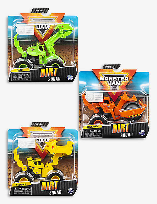 MONSTER JAM: 1:64 Dirt Squad Die-Cast assorted vehicle
