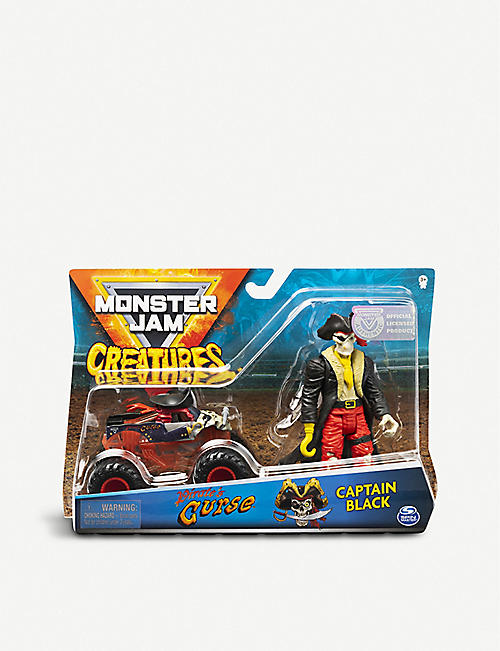 MONSTER JAM: Truck and creature action figure set