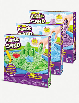 KINETIC SAND: Sandbox assorted playset