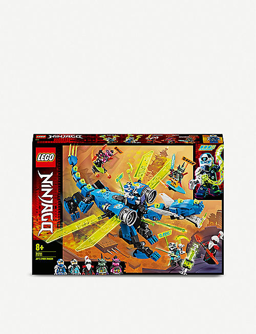 LEGO LEGO® Ninjago Jay's Cyber Dragon set 8 years+