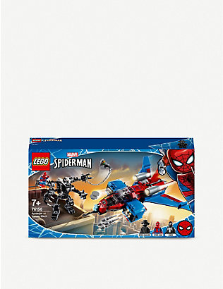 LEGO: LEGO® Spider-Jet vs Venom Mech play set