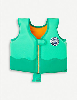 SUNNYLIFE: Crocodile float vest 1-2 years