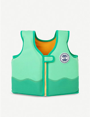 SUNNYLIFE: Crocodile float vest 2-4 years
