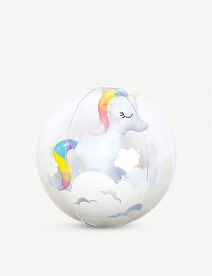 SUNNYLIFE Unicorn inflatable beach ball