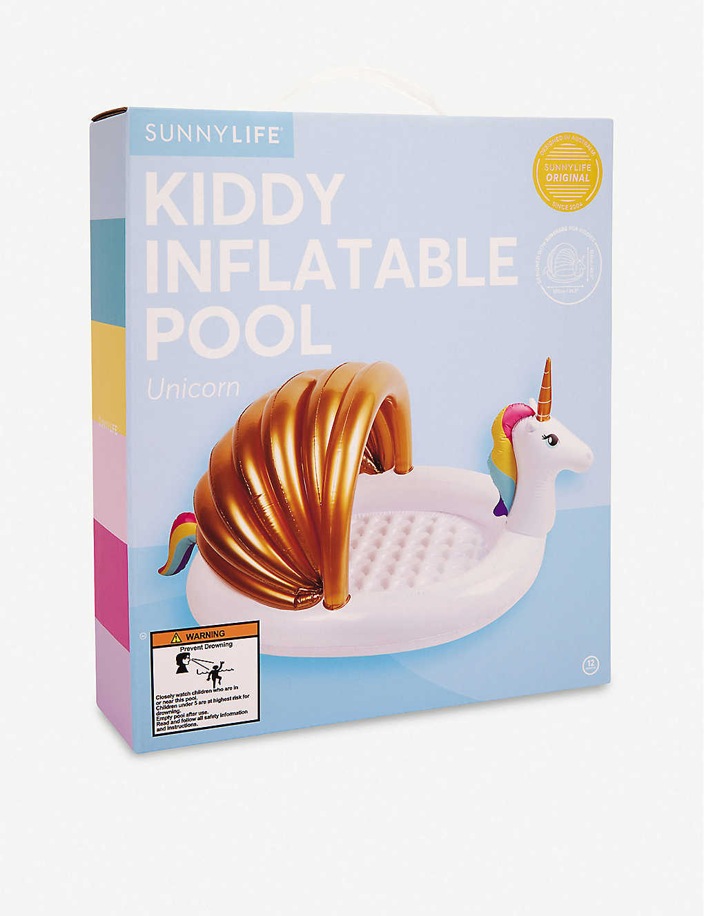 SUNNYLIFE: Unicorn inflatable kids pool