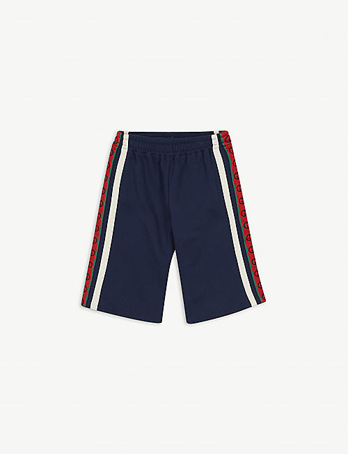 GUCCI: Web-print stretch-woven shorts 4-12 years