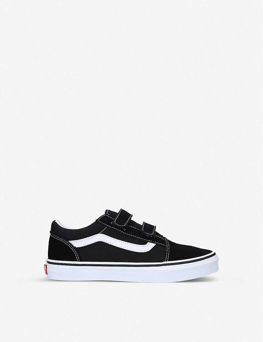 VANS: Old Skool V suede and canvas low-top trainers 9-10 years