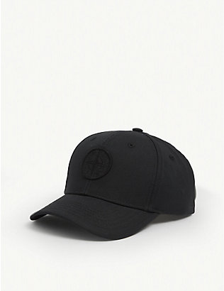 STONE ISLAND: Kids logo-embroidered baseball cap 6-10 years