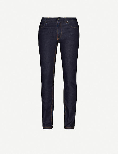 FENDI: Brand-patch straight jeans