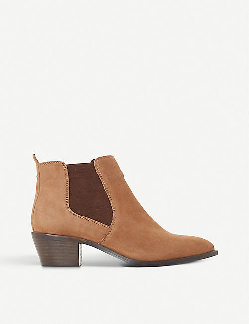 BERTIE: Peater suede ankle boots
