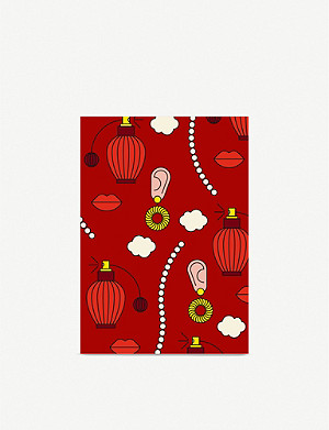 REDFRIES Graphic-print notebook A6