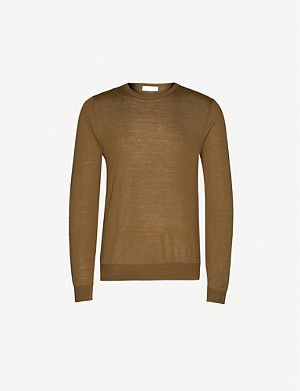 TIGER OF SWEDEN Crewneck merino wool jumper