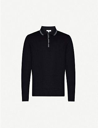 REISS: Spencer jersey polo-shirt