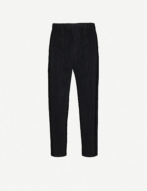 HOMME PLISSE ISSEY MIYAKE Pleated tapered trousers