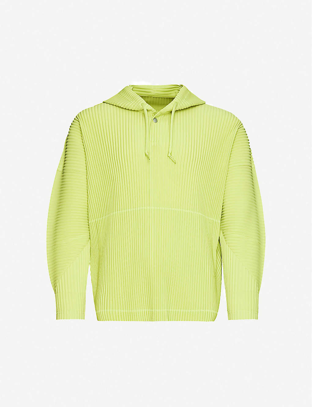 HOMME PLISSE ISSEY MIYAKE: Pleated woven hoody