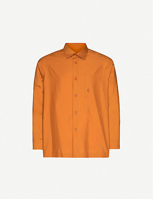 HOMME PLISSE ISSEY MIYAKE: Relaxed-fit woven shirt