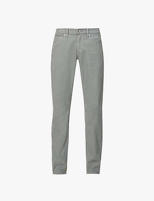 CITIZENS OF HUMANITY: London Logan straight cotton trousers