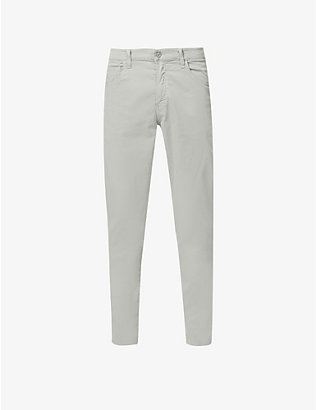 CITIZENS OF HUMANITY: Bowery straight-leg stretch-cotton trousers
