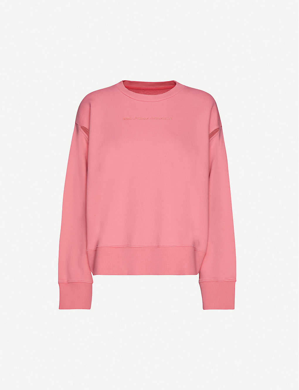 MM6 MAISON MARGIELA: Cut-out cotton-jersey sweatshirt