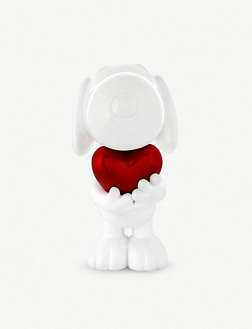 LEBLON DELIENNE Snoopy Heart resin figurine 27cm