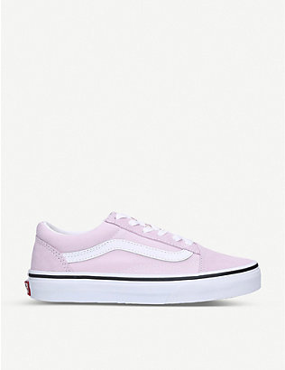 VANS: Old Skool suede trainers 3-8 years