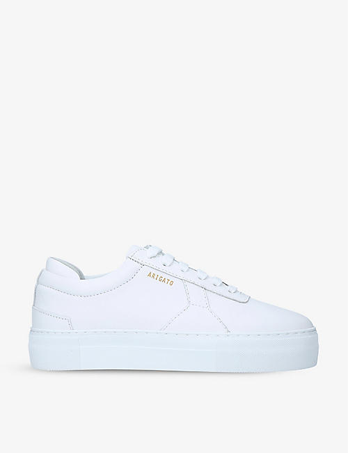 AXEL ARIGATO: Platform leather trainers