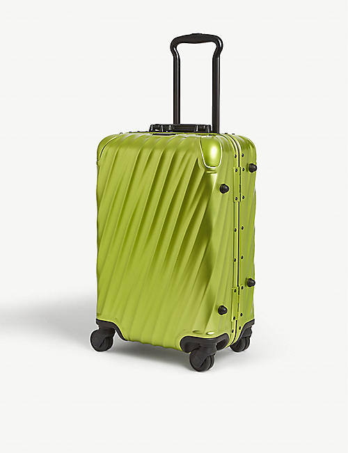 TUMI: International aluminium carry-on suitcase 56cm