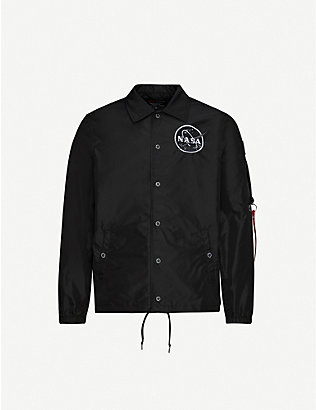ALPHA INDUSTRIES: Alpha Nasa Coach Jacket
