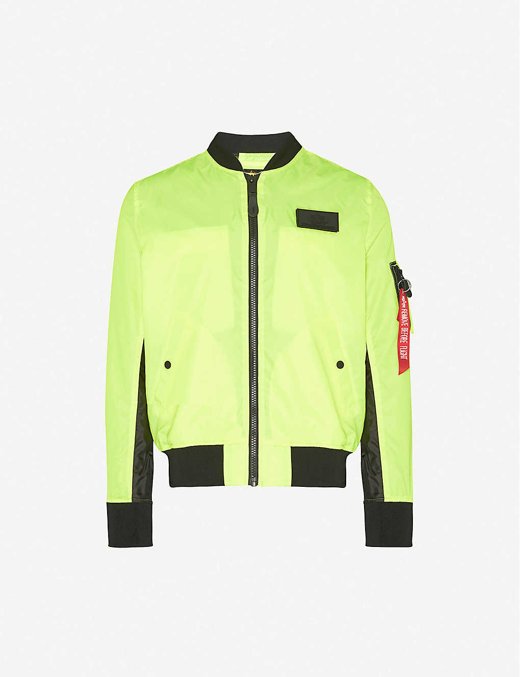 ALPHA INDUSTRIES: Ma-1 shell bomber jacket