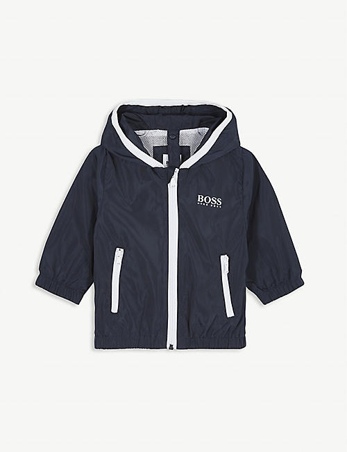 BOSS Logo shell windbreaker 6-36 months