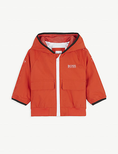BOSS Logo shell jacket 6-36 months