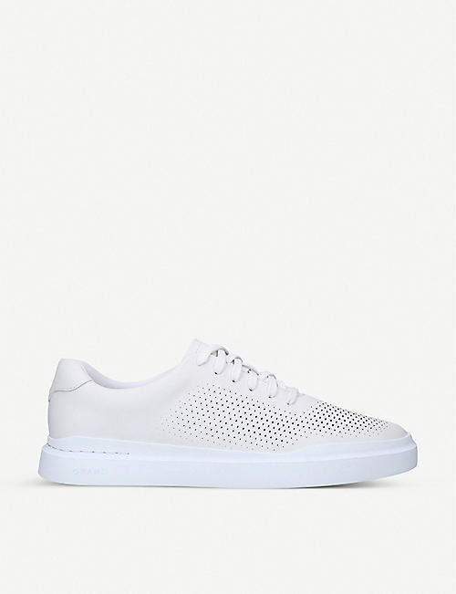COLE HAAN: Grandpro leather tennis trainers