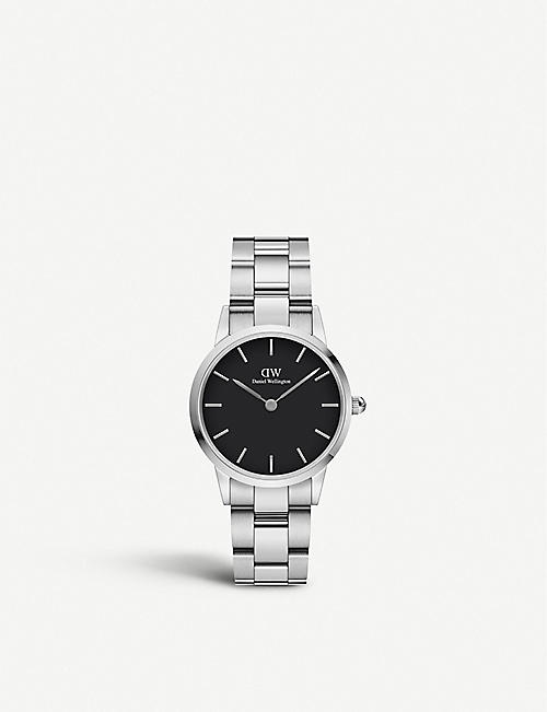 DANIEL WELLINGTON: DW00100208 Iconic Link stainless steel watch