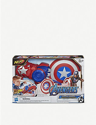 MARVEL AVENGERS: Disney Captain America NERF shield disc