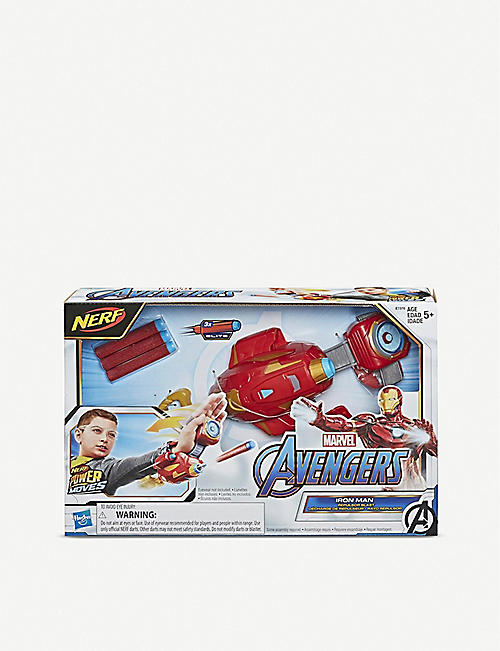 MARVEL AVENGERS: Disney Iron Man NERF repulsor guantlet