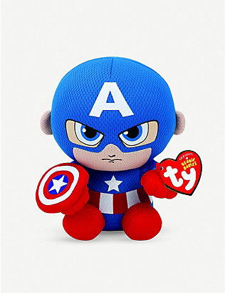 MARVEL AVENGERS: Captain America beanie soft-toy
