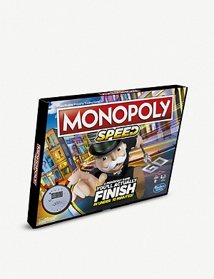 BOARD GAMES Monopoly Speed board game