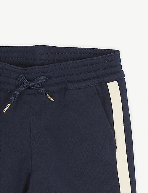 CHLOE Tapered cotton jogging bottoms 4-12 years