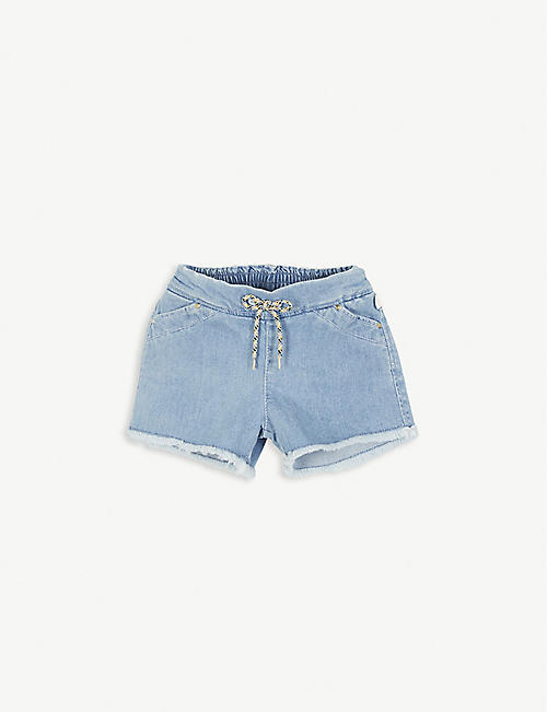 CHLOE Denim cotton shorts 4-12 years