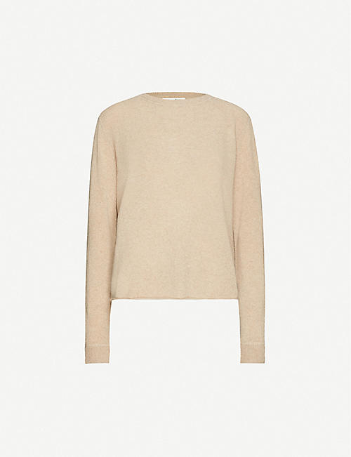 REFORMATION Round-neck cashmere-knitted jumper