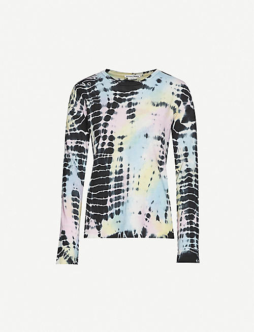 REFORMATION Eddie tie-dye cotton-jersey T-shirt