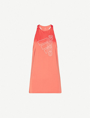 ADIDAS PERFORMANCE Tech stretch-jersey vest top