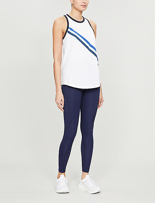 LNDR Relaxed-fit cotton-jersey vest