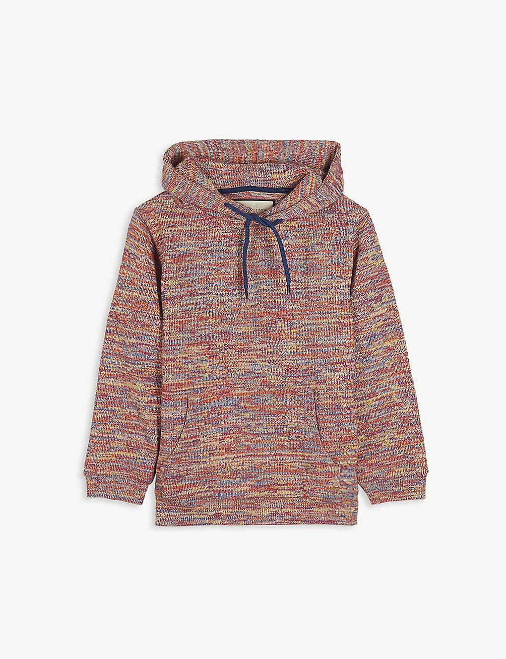 PREVU: Woven Karaman cotton hoody 4-14 years